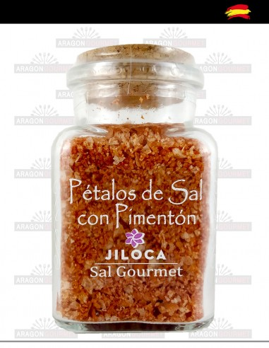 Pétales de sel au paprika