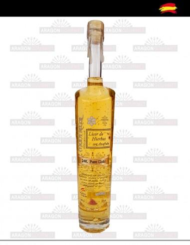 Saffron and Gold liquor
