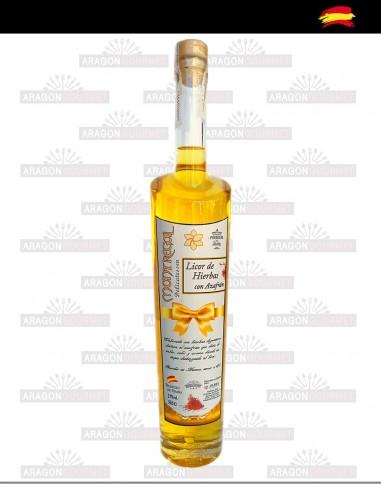 Herbal Liqueur with Saffron