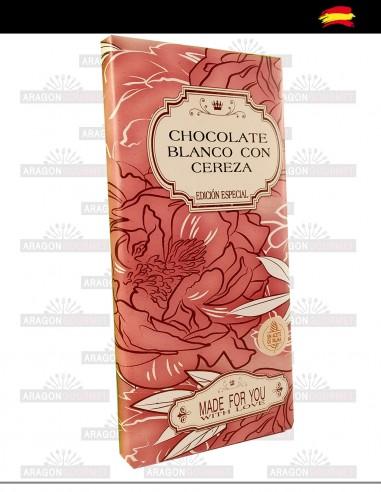 White Chocolate with Cherry