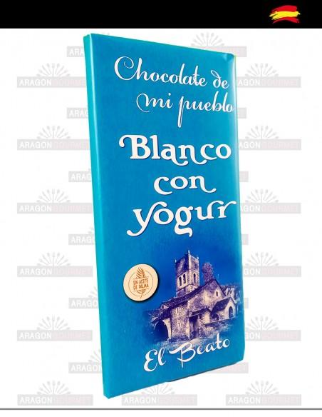 Chocolat blanc au yaourt