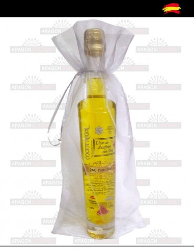 Herbal liquor with gold 20cl wedding...