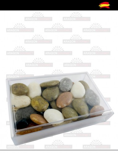 River stones box