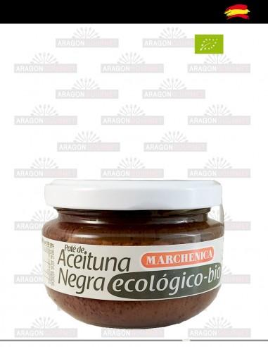 Pâté d'olives noires écologiques