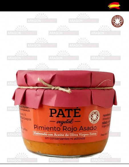 Roasted Red Pepper Pate