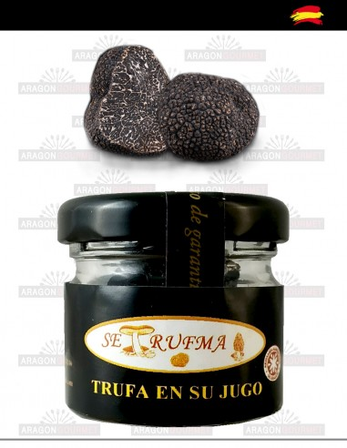 Truffle in its juice Tuber Melanosporum