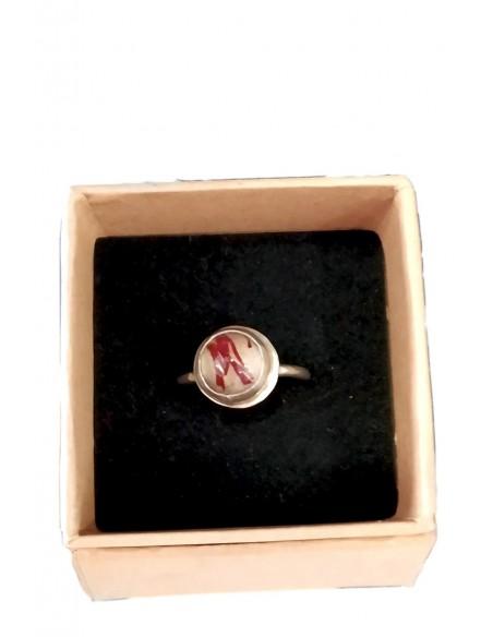 anillo con azafran