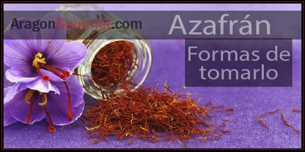 Ways to take saffron